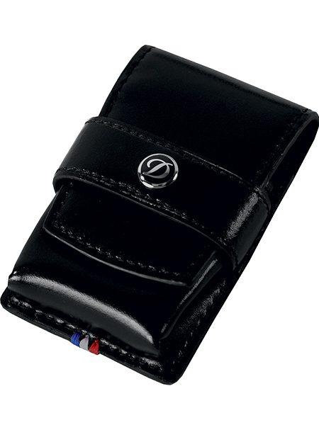 bf7de1ecd48 Home   The Shop   Asesoar   S.T. Dupont Line D Leather Lighter Case Black