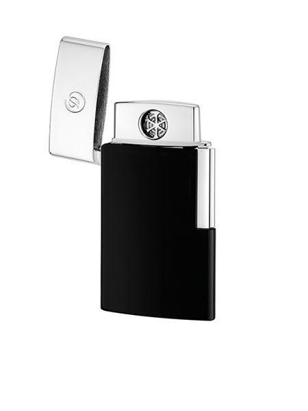 74566d9b7ee S.T. Dupont Line D Leather Lighter Case Black - Mgallery